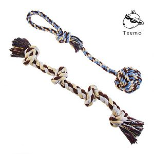 Teething toy Teemo Tug of War Dog Rope Toy